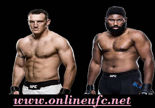 Live Curtis Blaydes vs Adam Milstead Watch